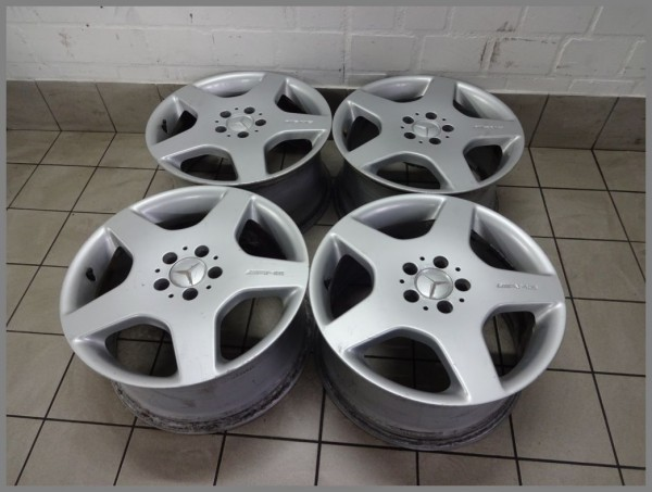 Mercedes Benz Rims >> Mercedes Benz W163 Ml Class Amg Alloy Wheels Rims 9x18 Et52 1634012102 Original F2