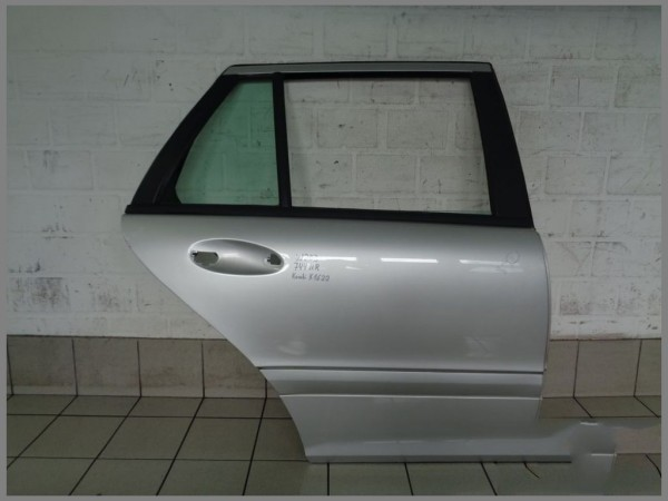 Mercedes Benz w203 Tür Hinten Rechts 744 Silber Kombi T-Modell K1621 Original