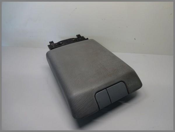 Mercedes Benz MB W163 Mittelarmlehne Leder Armlehne Mittelfach GRAU 1636800251