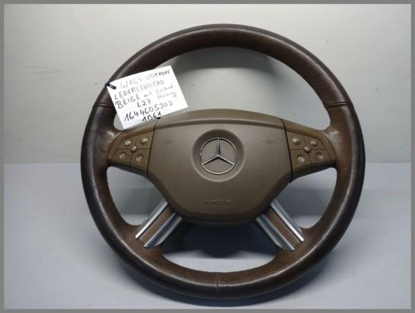 Mercedes R251 W164 Airbaglenkrad Lenkrad 1644605303 1B61 Multifunktion Heizung