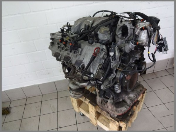 Mercedes Benz W208 W210 V6 320 Motor Motorblock 112940 156tkm 165KW/225PS W220