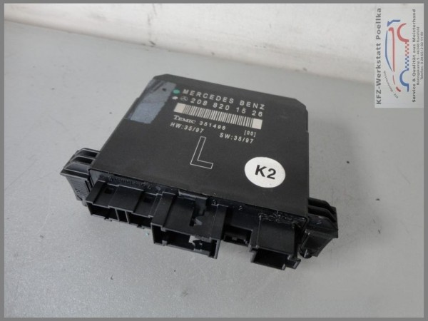 Mercedes Benz MB W210 door control unit W208 2088201526 LINKS TEMIC 351496