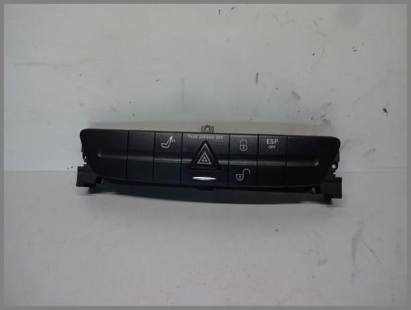 Mercedes Benz MB W211 E-Class switch strip switch block 2118212558 original