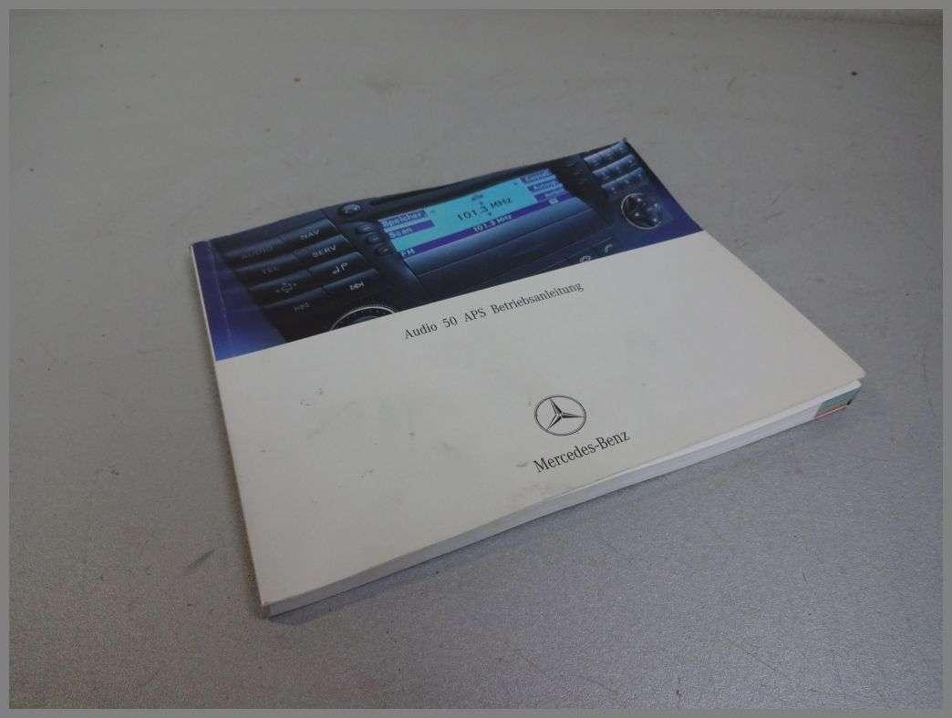 Mercedes Benz W211 APS50 APS 50 Operating Instructions 2115841082 | W211 |  E-Class | Mercedes spare parts | benzshop.de