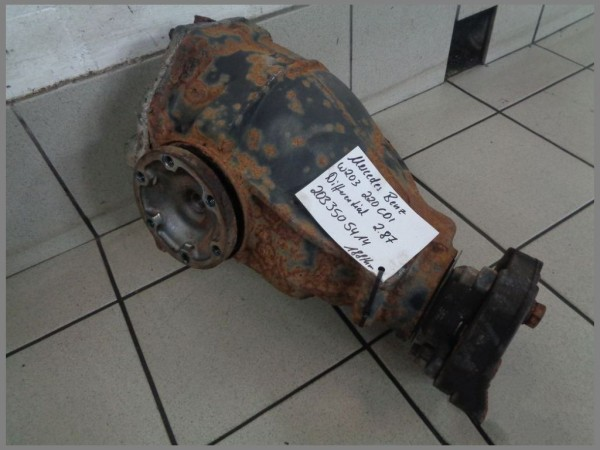 Mercedes Benz W203 220CDI Differential 188tkm 2.87 Hinterachsgetriebe 2033505414
