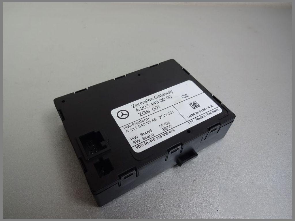Mercedes W203 C class gateway control module A2034450000