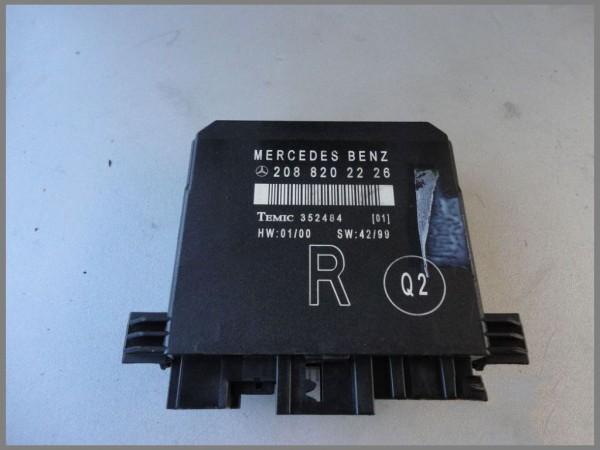 Mercedes Benz W208 CLK-Class door control unit 2088202226 RIGHT W210 W202