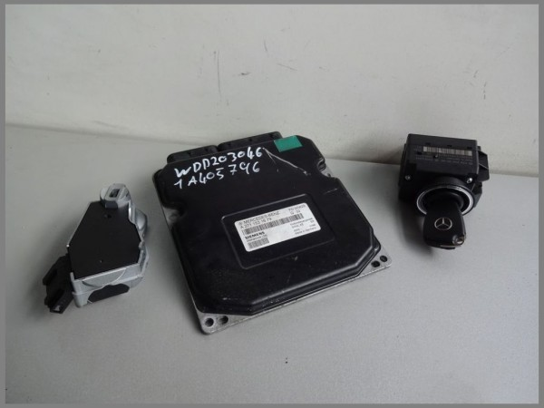 Mercedes Benz W203 control unit engine control unit 2711531679 Siemens 5WK90448 [08]