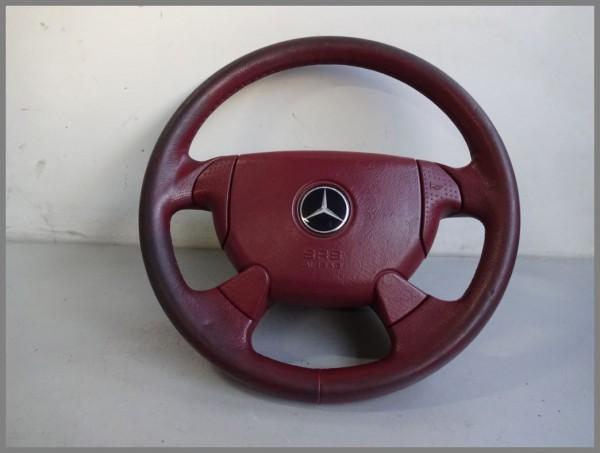 Mercedes Benz R170 DESIGNO SLK LEDER Airbaglenkrad Lenkrad ROT 1704601898 L66