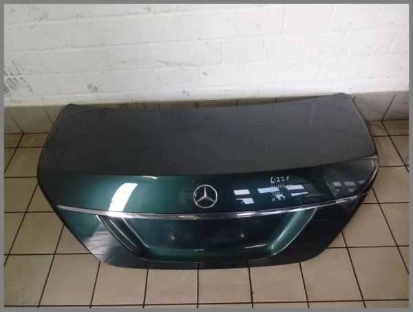 Mercedes Benz W221 tailgate trunk lid 300 periclase green 2217500275 K33 Orig.