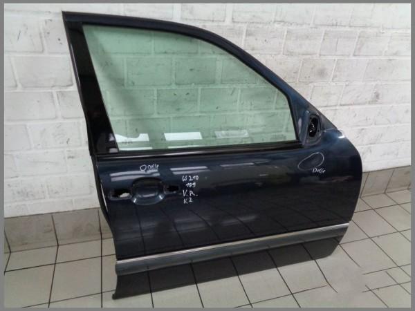Mercedes Benz W210 door front right 189 emerald black BJ.02 K2 original