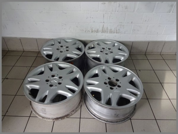 Mercedes Benz W220 W215 alloy wheels 7.5x17 ET46 rims Original 2204010202 B450