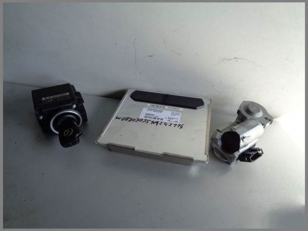 Mercedes Benz MB W203 C180 95KW engine control unit 1111532979 5WK90414