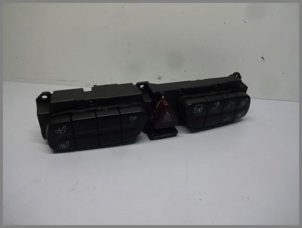 Mercedes Benz MB W203 C-Klasse Schalter Warnblinker Schalterleiste 2038217679