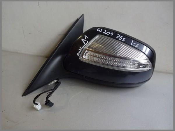 Mercedes Benz W204 outside mirror left 755 Tenoritgrau 2048100376 hinged A1