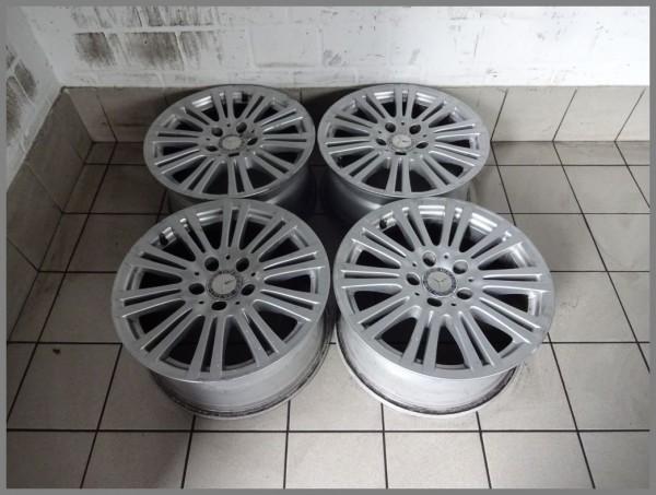 Mercedes W212 Alufelgen Felgen SET 7,5x16 ET45,5 2124010702 Original B91 Satz