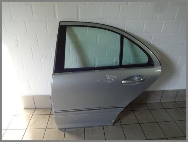 Mercedes Benz MB W211 Tür Hinten Links 744 Silber Limousine 2117300105 K34 Orig.