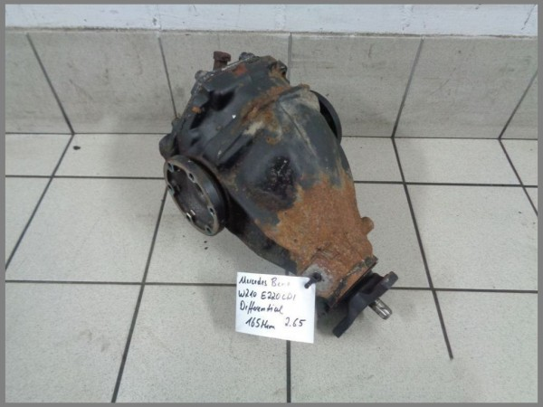 Mercedes Benz W210 220CDI Differential 165tkm Hinterachsgetriebe 2,65 2103506862
