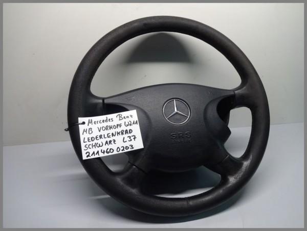 Mercedes Benz W211 E-Klasse Lenkrad Lederlenkrad VORMOPF Schwarz 2114600203 L37