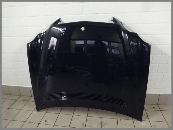 Mercedes Benz W203 C-Class bonnet hood 904 dark blue 2038800157 Orig.K2