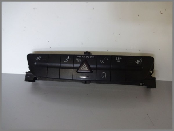 Mercedes Benz MB W211 E-Klasse Schalterleiste Schalterblock 2118217458 Original