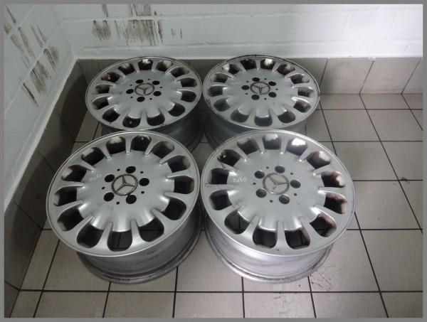 Mercedes Benz W211 aluminum rims 7.5x16 ET42 rims original 2114014402 SET B650