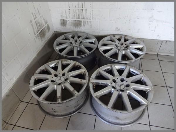 Mercedes W209 Felgen Alufelgen 7,5x17 ET36 8,5x17 ET30 2094014402 2094014502 B45