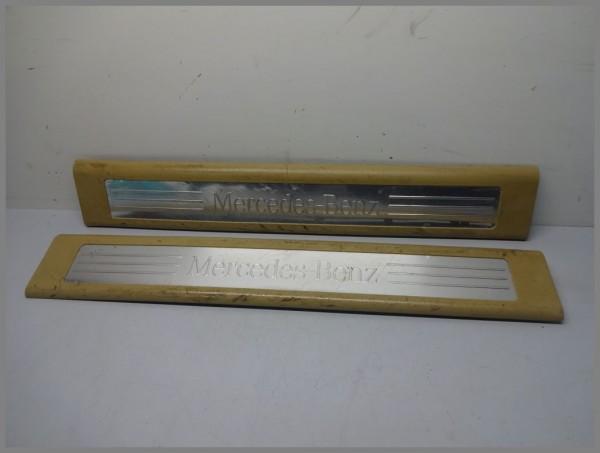 Mercedes W164 door sill strips set 1646803335 1646803435 original beige