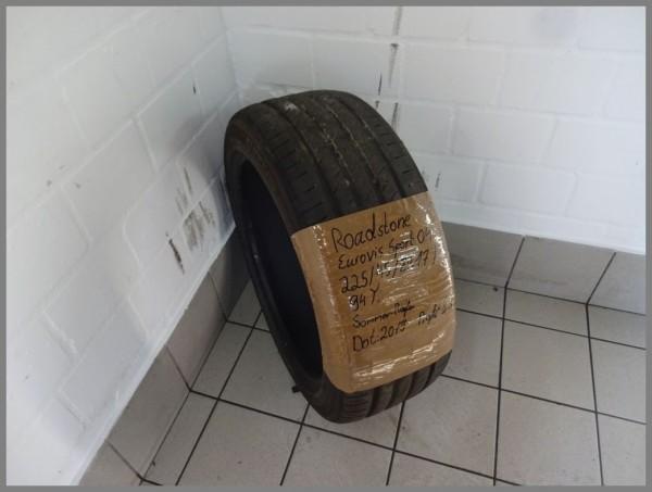 1x Roadstone 225 45 ZR17 94Y Eurovis Sport 04 DOT2019 6.3mm summer tires