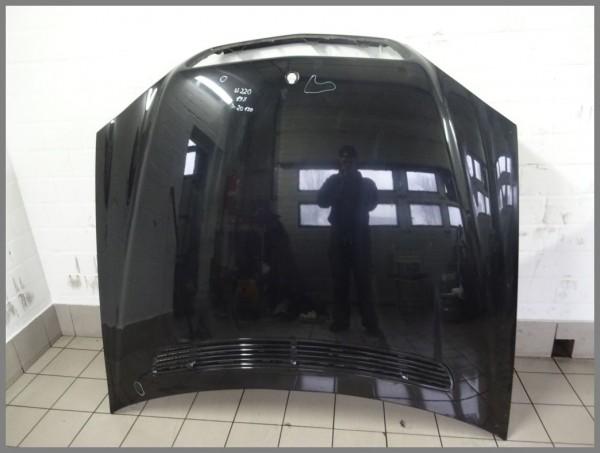 Mercedes Benz W220 S-Class bonnet hood 197 black 2208800157 Orig.K20130