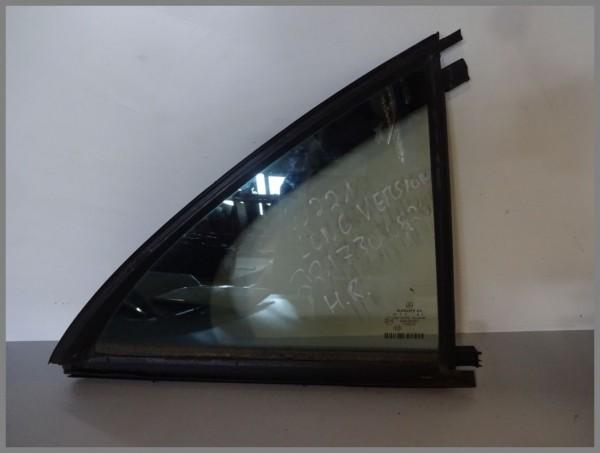 Mercedes Benz MB W221 side window triangular window rear right 2217300820