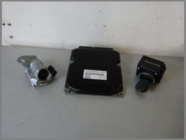 MB W203 Steuergerät Motorsteuergerät komplett 2711534579 Siemens 5WK90484 [02]