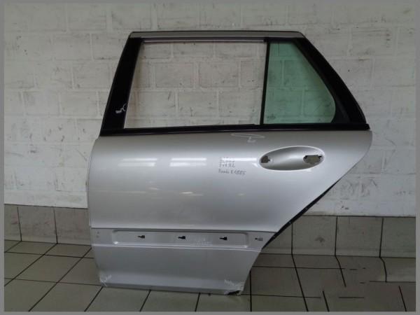 Mercedes Benz MB W203 S203 Estate Door Rear Left 744 Silver Original K1885