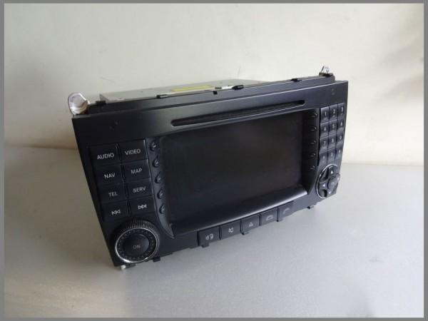 Mercedes Benz W209 Comand navigation system BE6099 DVD NTG2 2098203089 Original