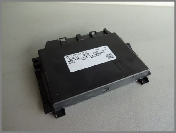 Mercedes Benz W204 transmission control unit 0005454516 Siemens 5WP20124AZ